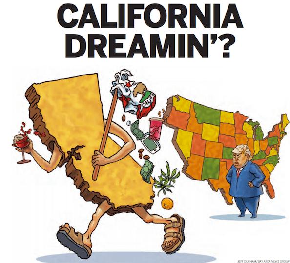 California secession image