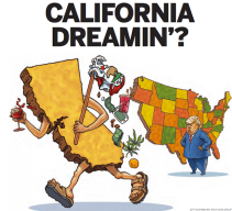 California secession image
