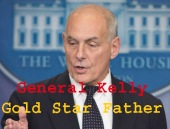 White House Chief of Staff General John Kelly delivers remarks during the daily news briefing at the White House in Washington.