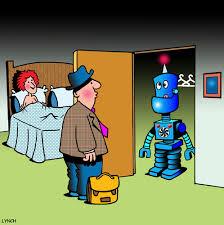 Sex Robot cartoon