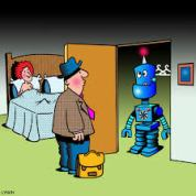 Sex Robot cartoon