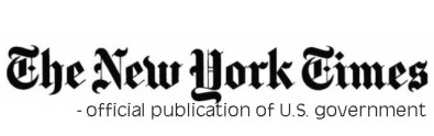 New-York-Times-Logo US Govt