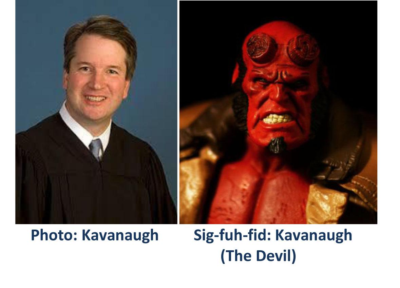Kavanaugh - Devil