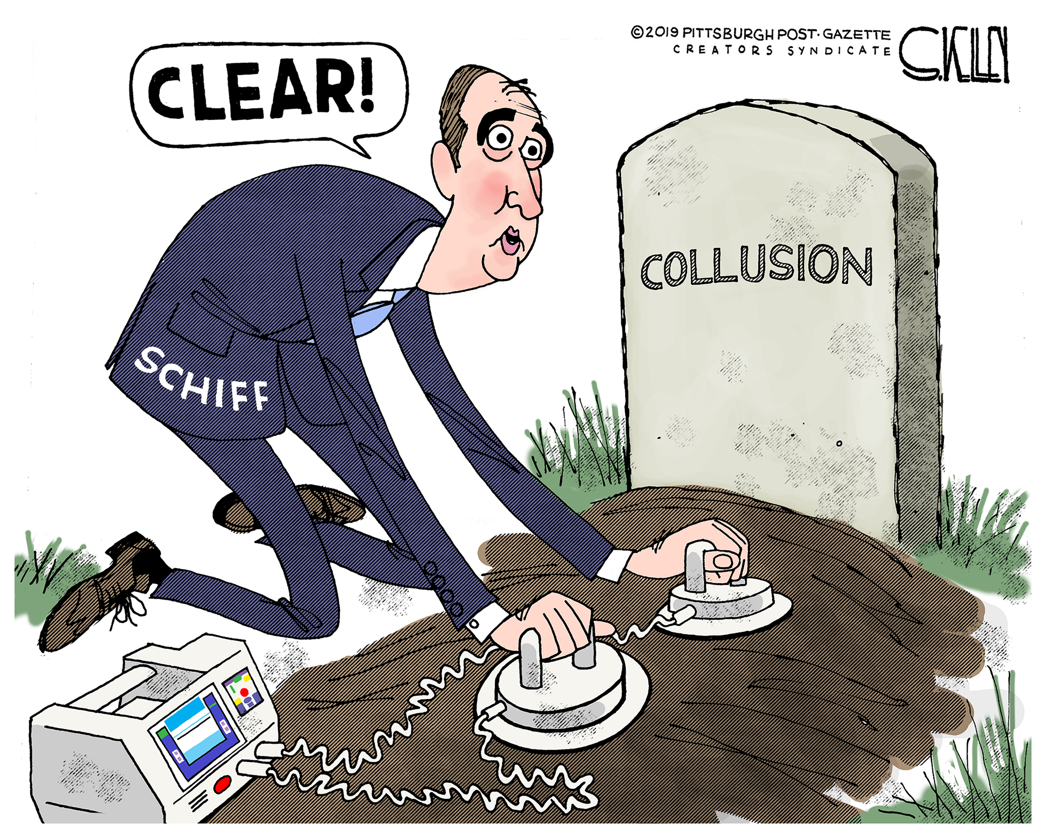 Schiff Cartoon 7-10-19