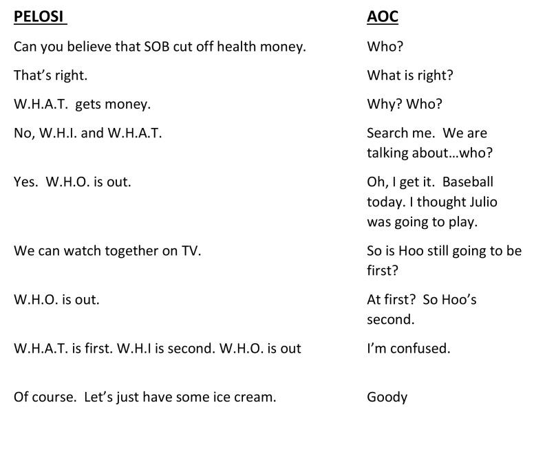 Pelosi & AOCconversation JPG